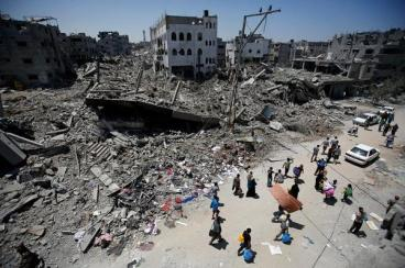 Gaza destroyed