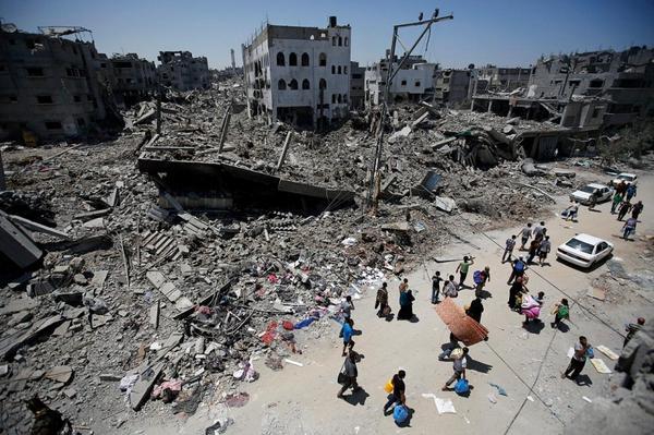 Gaza destroyed